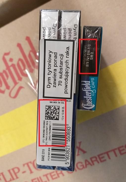 identyfikacja wyrobów tytoniowych